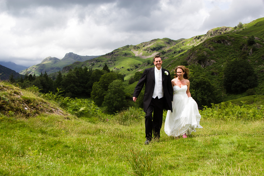 Claire & Andrew, Dale Lodge