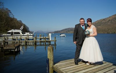 Clare & Tony, The Lakeside Hotel, Cumbria